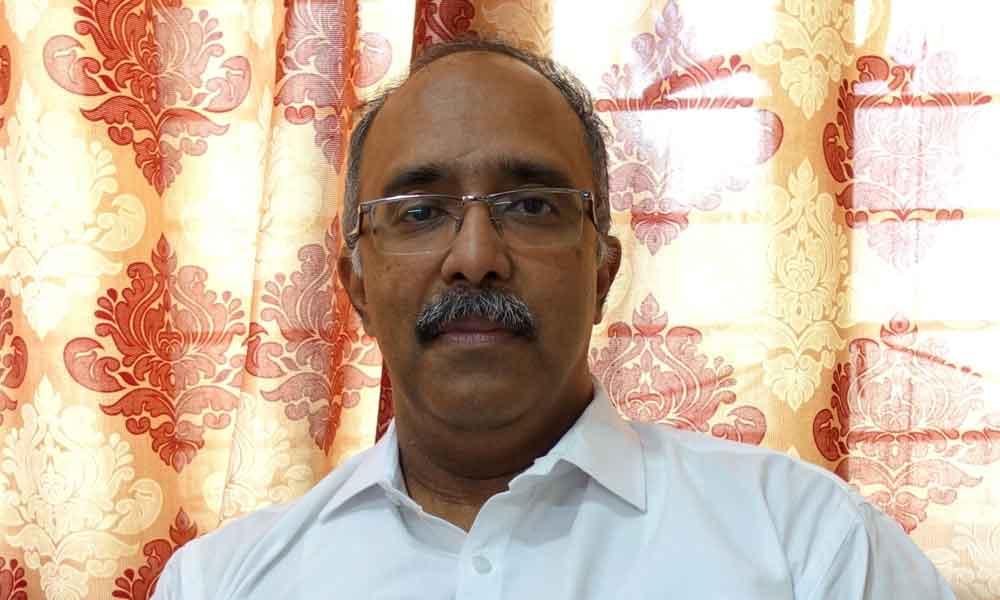 Prof Pramod K Nayar of the Department of English at the University of Hyderabad