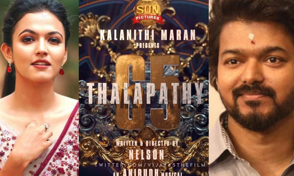 Vijays Thalapathy65 Goes On Floors, Aparna Das Roped in