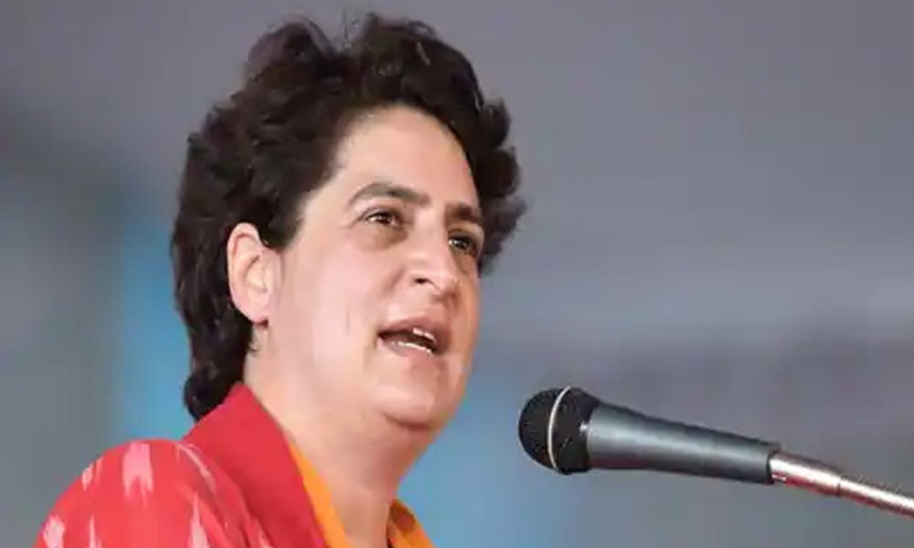 Congress general secretary Priyanka Gandhi Vadra