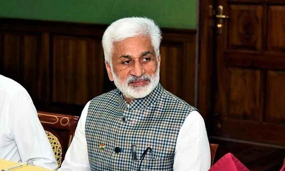 Vijayasai makes merry of TDP poll boycott