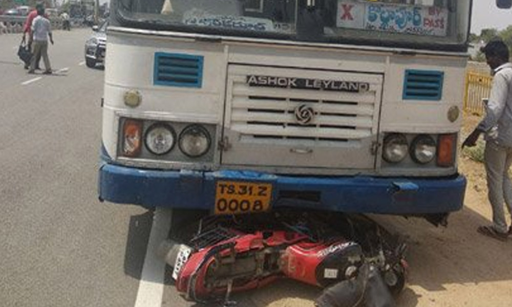Techie mowed to death by TSRTC bus in Hyderabad