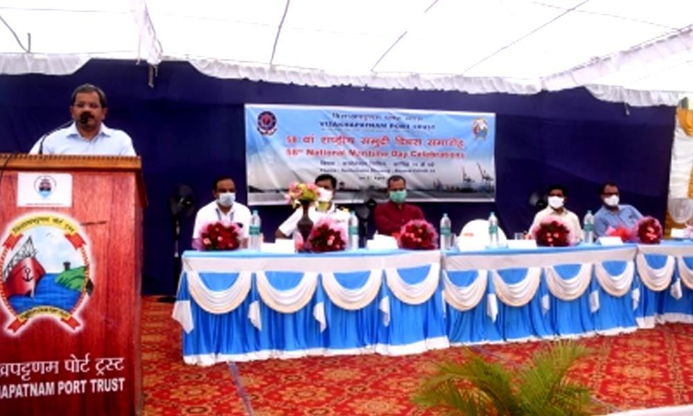 Visakhapatnam Port Trust celebrates 58th National Maritime Day