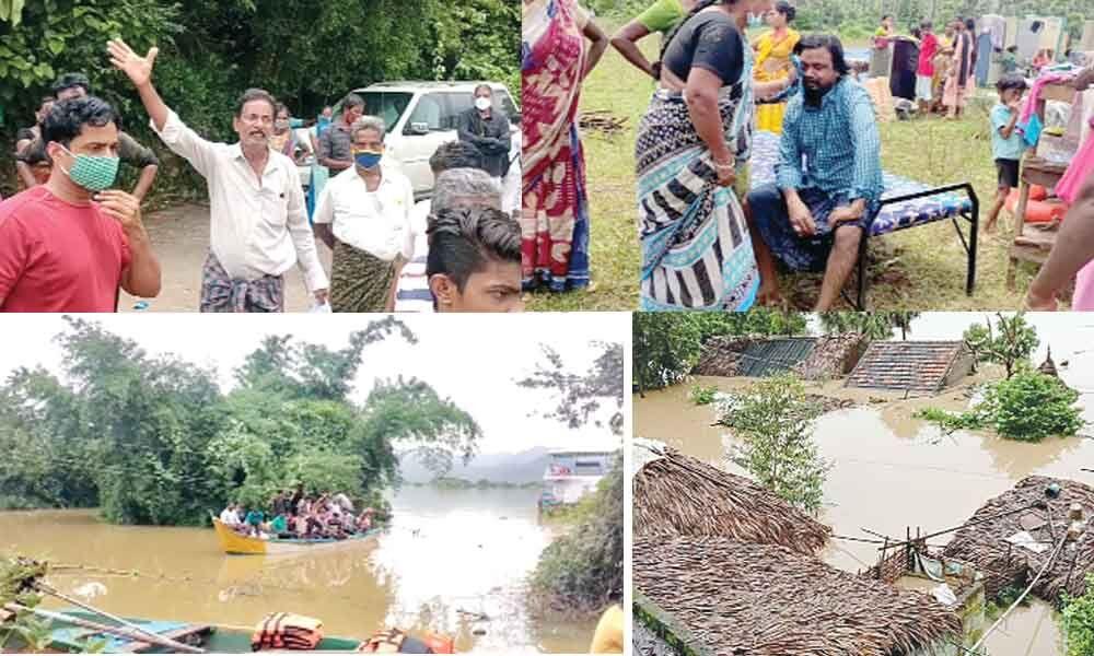 Rajamahendravaram: Have a sigh of relief! Godavari floodwater recedes