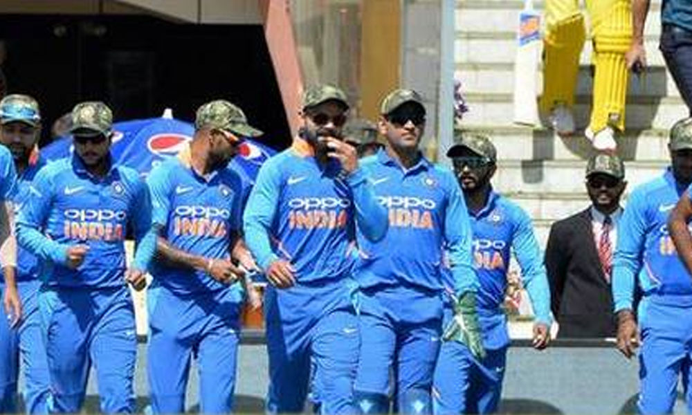 Pakistan Cricket Board appeals for action against India for wearing camouflage caps