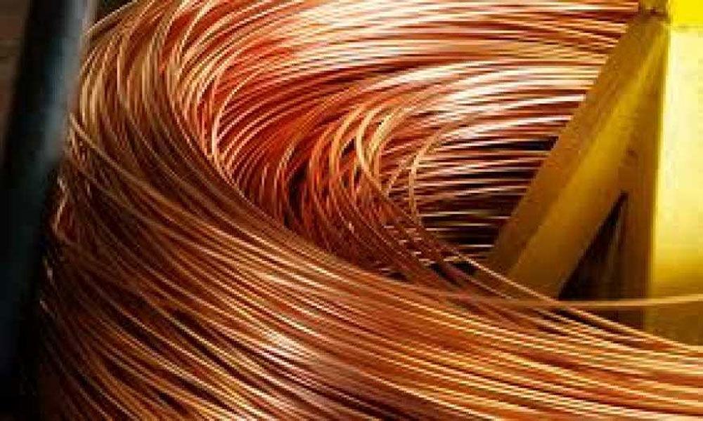 Copper futures rise on spot demand