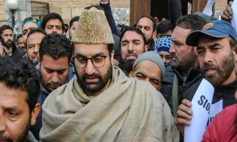 Mirwaiz Umer Farooq wont appear before NIA on Monday