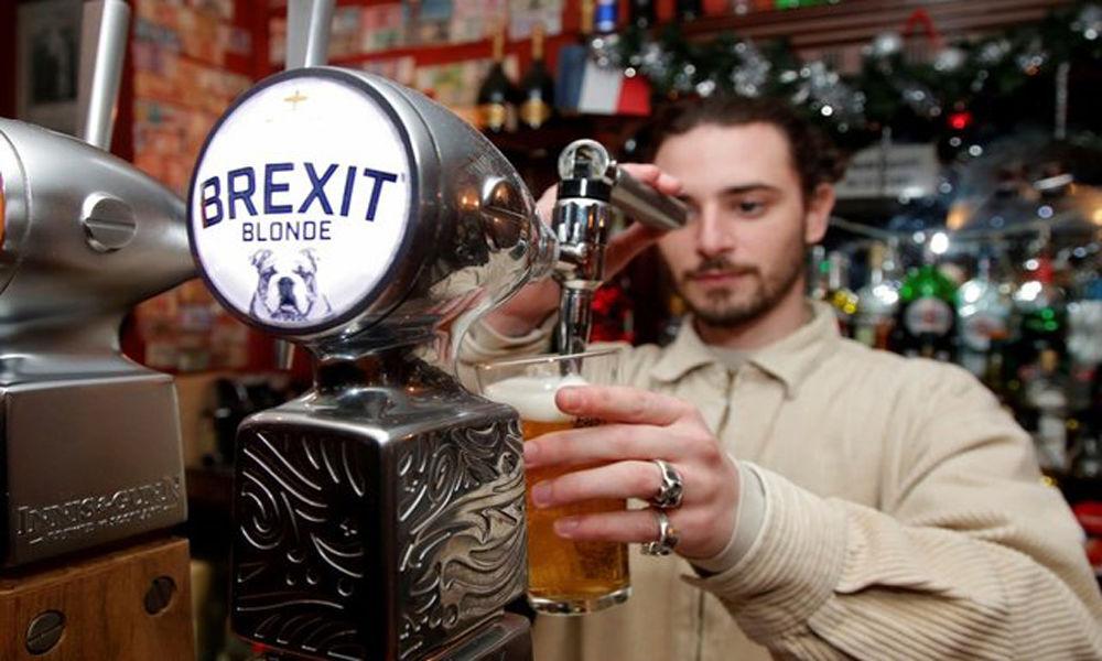 In Paris pub, British punters drown sorrows with Brexit beer