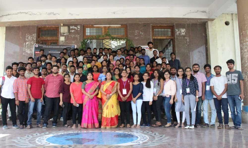 24-hour hackathon held at JNTUH