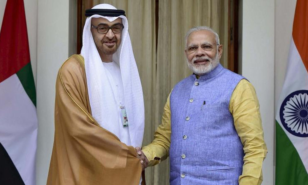 PM speaks to Abu Dhabi crown prince, says will strengthen ties