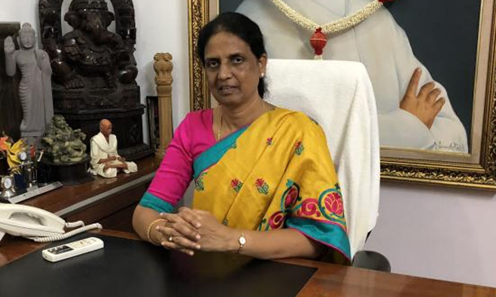 MLA Sabitha Indra Reddy decides to continue in Congress
