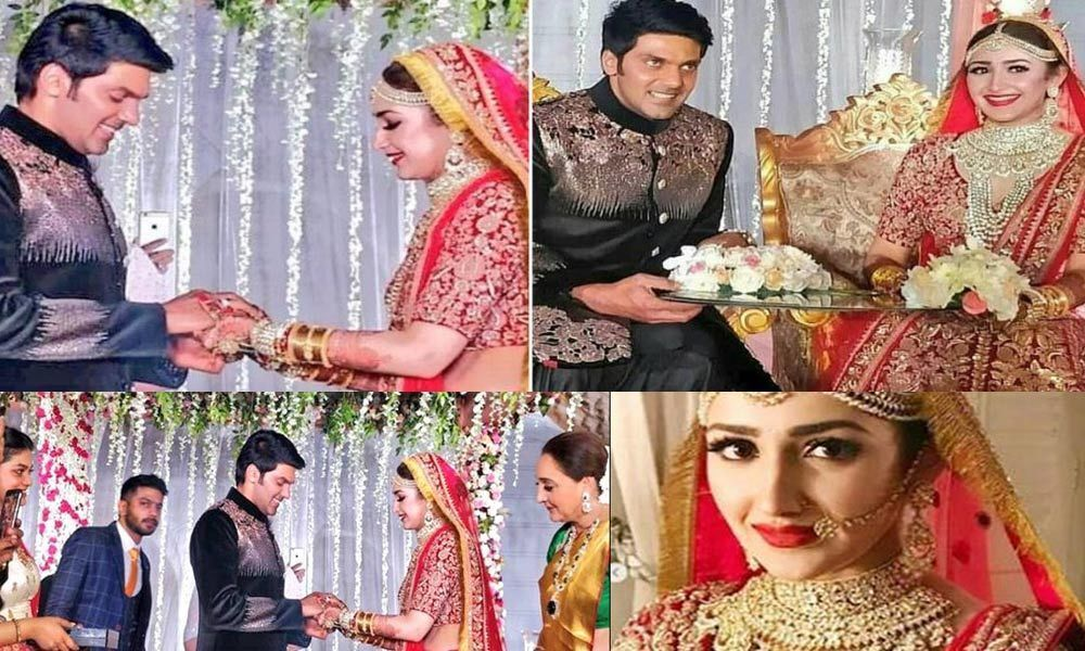 Sayyeshaa And Arya Are Officially Hitched