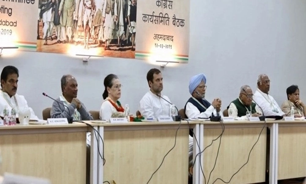Sonia Gandhi accuses PM Modi of playing victim card