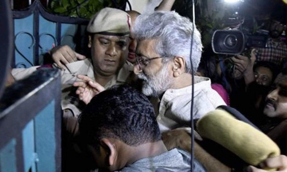 Koregaon-Bhima case: SC asks Bombay HC to decide on Navlakhas plea in 8 weeks
