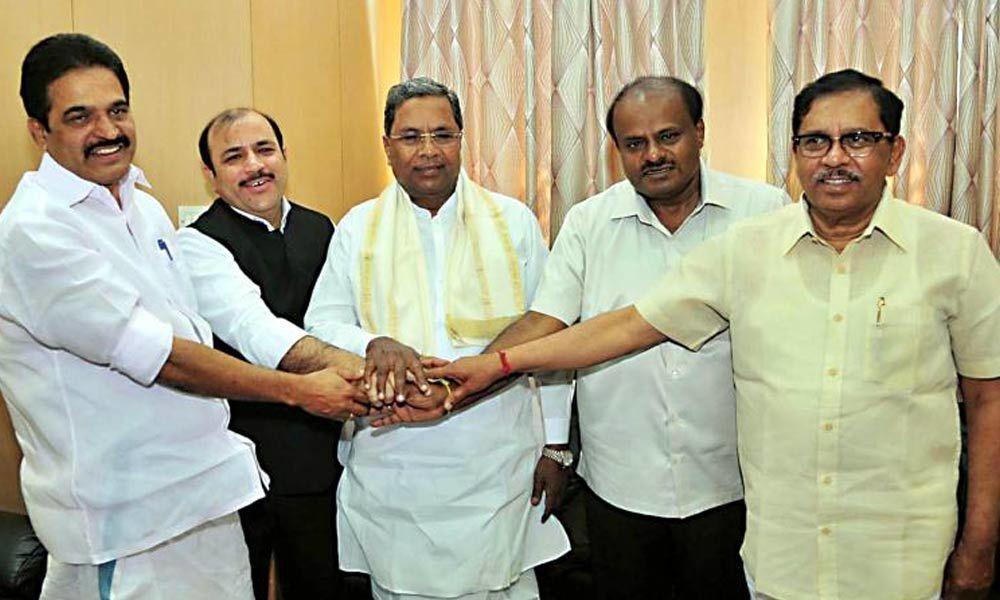 JD(S) and Congress take a step forward towards seat-sharing