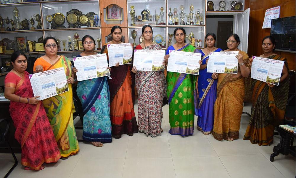 Meet on Science, Tech and Mgmt on Mar 30 in Vijayawada