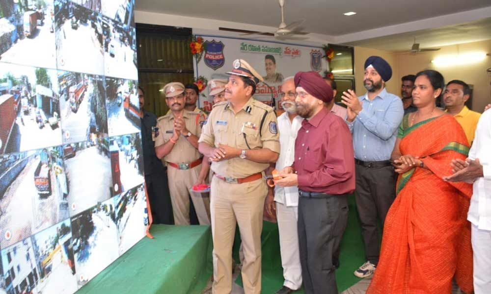 Community CCTV set up at Autonagar