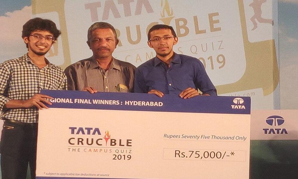 Osmania Medical College wins Tata Crucible Campus Quiz 2019