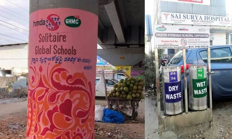 Corporates pitch in to beautify public places in Hyderabad