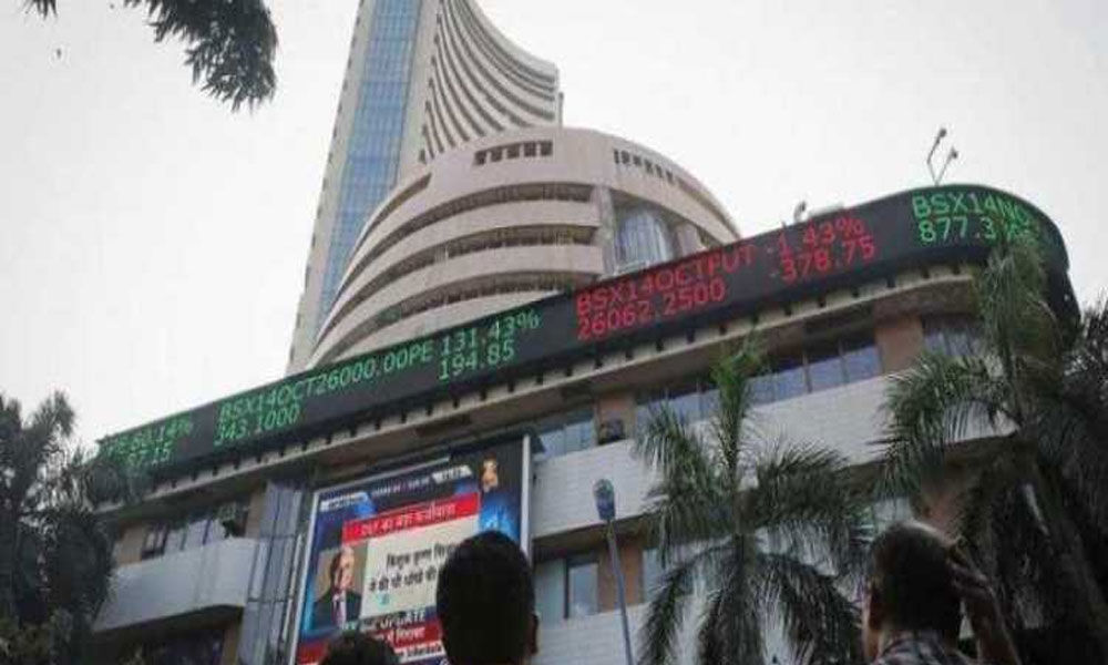 Sensex rises over 100 points; Nifty above 11,300