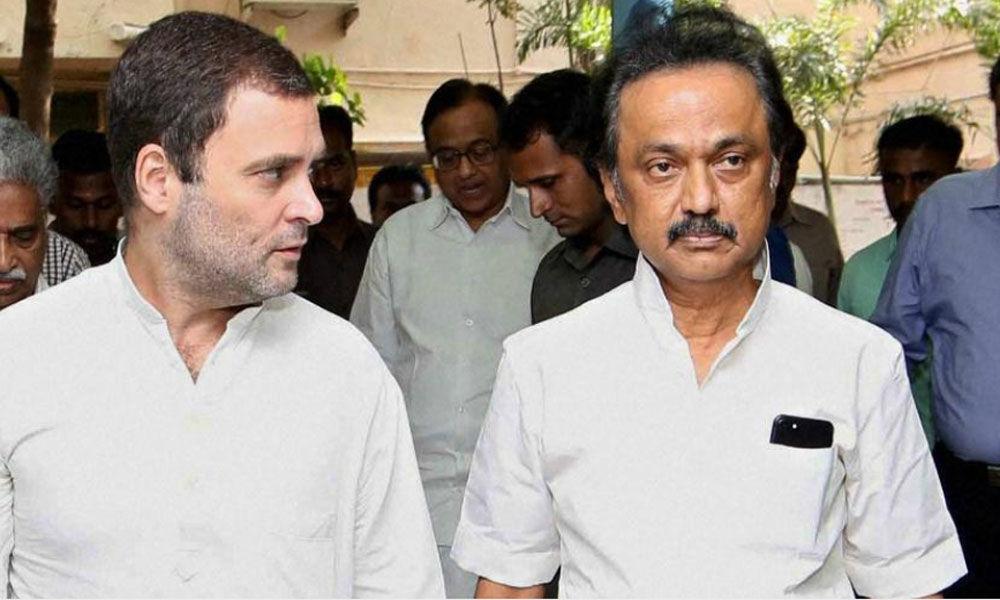 DMK chief Stalin says Rahul will be PM after Lok Sabha polls