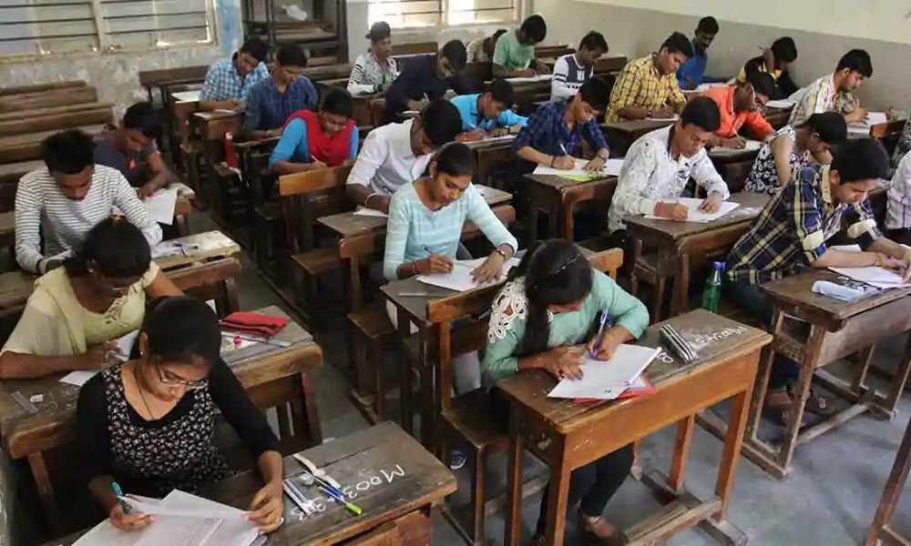 Students perform puja ahead of SSC exams