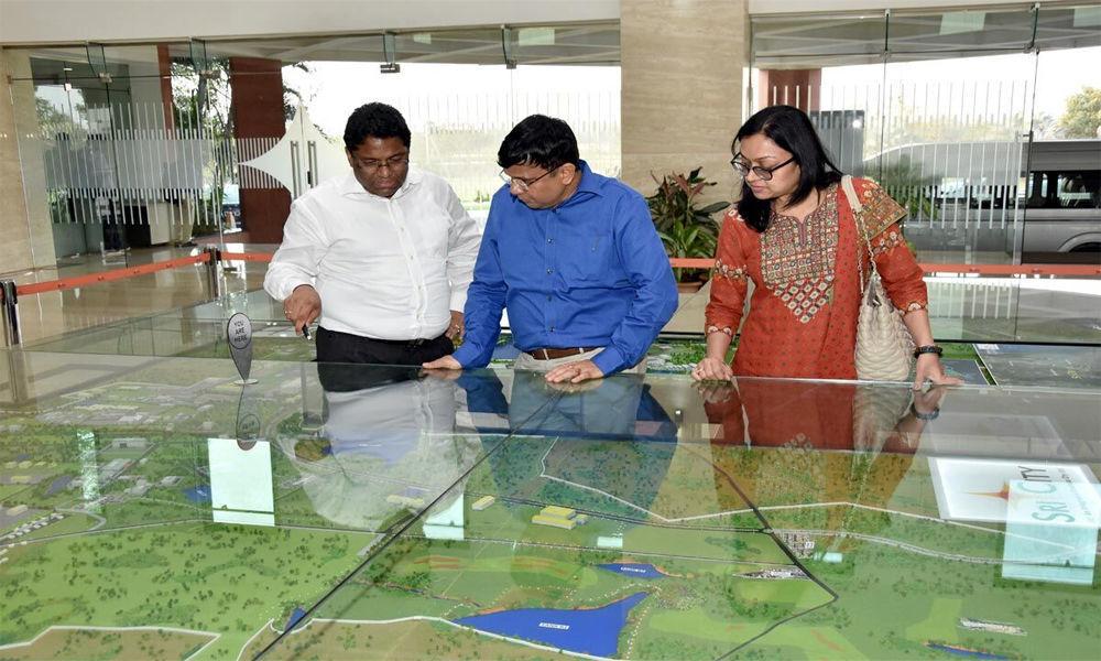 Ajay Jain visits Sri City