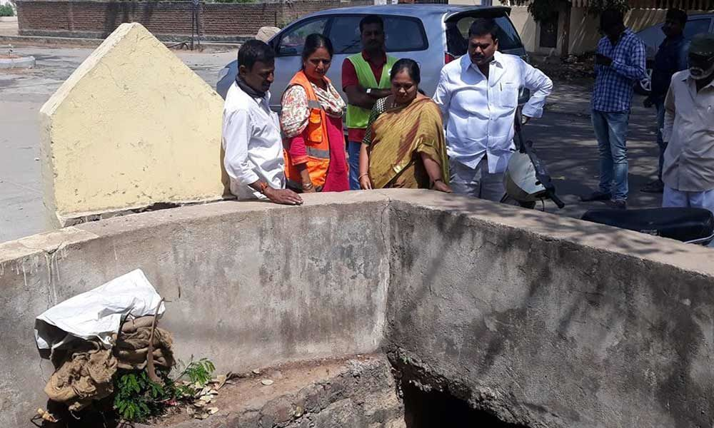 Overflowing drainage issue resolved