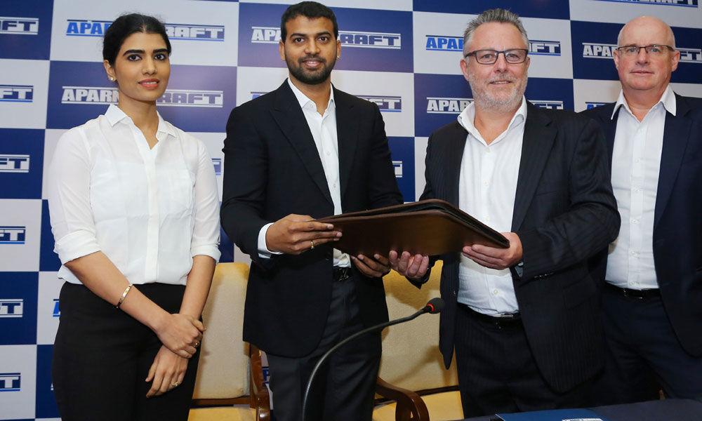 Aparna Enterprises joins hands with Hong Kong co