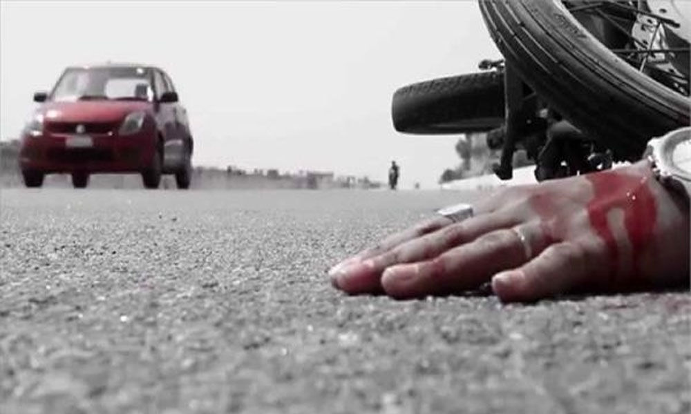 One killed, three injured in road accident