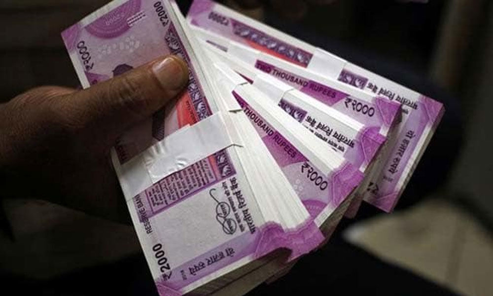 One crore cash seized from a car ahead of elections