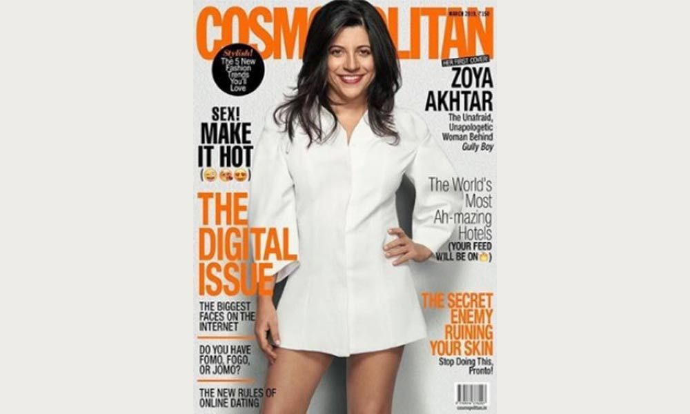 Zoya Akhtar Turns Cosmopolitan Cover Girl