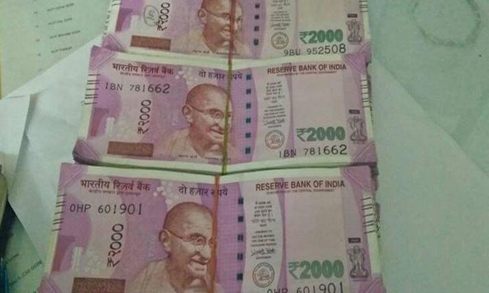Proddaturu police seized Rs 24 lakh worth Saris, 3.50lakh cash