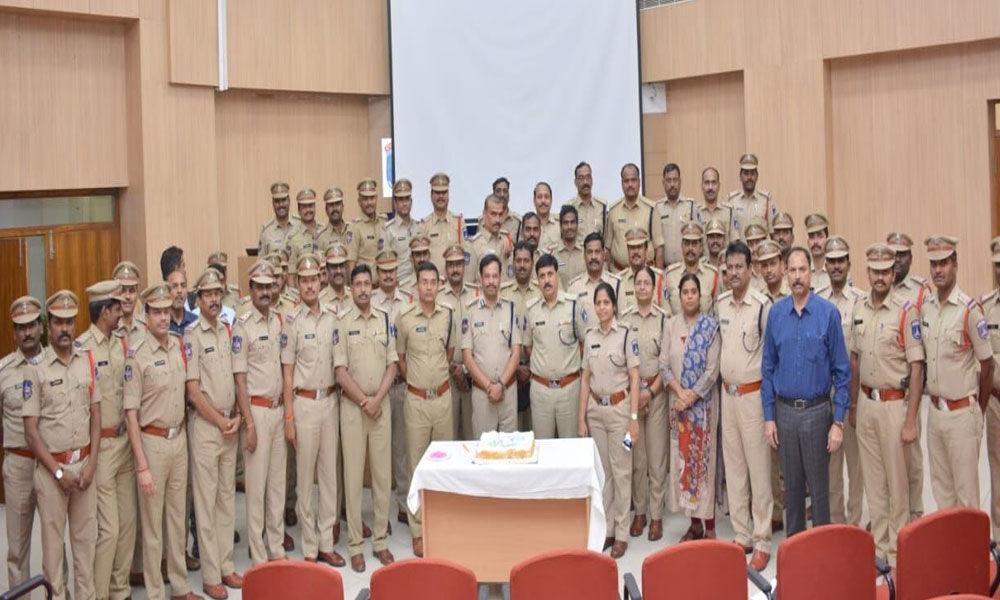 Cyberabad CP Sajjanar celebrates one year in office