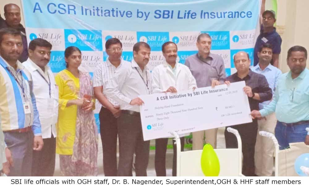 SBI Life donates wheelchairs to OGH