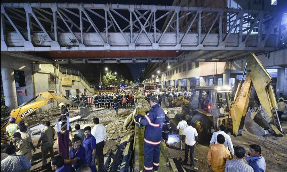 Mumbai CST bridge collapse: BMC to decide on dismantling structure