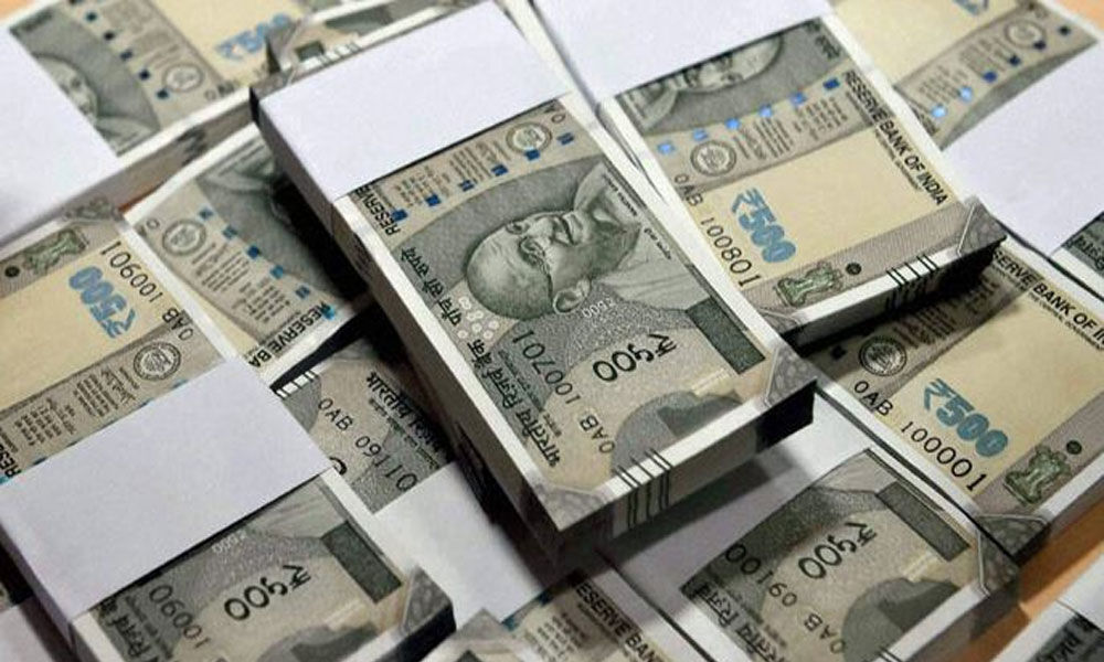 Police seized Rs 9 lakhs in Atmakur