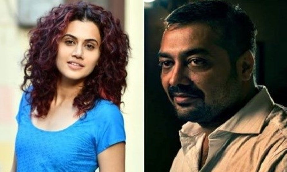 Anurag Kashyap And Taapsee Pannu To Collaborate For Supernatural Thriller