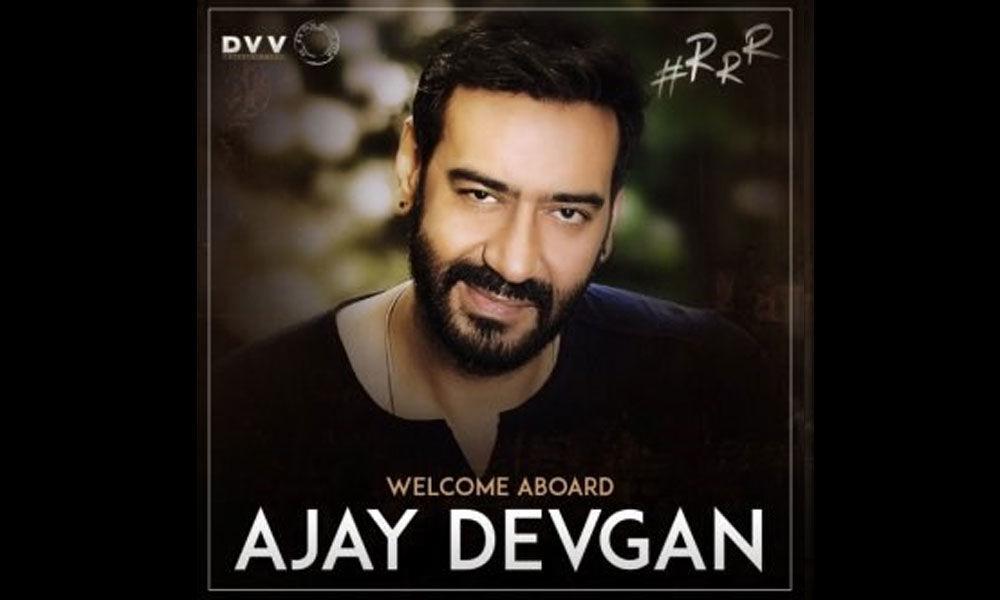 Ajay Devgn is On-Board RRR Movie, Confirmed