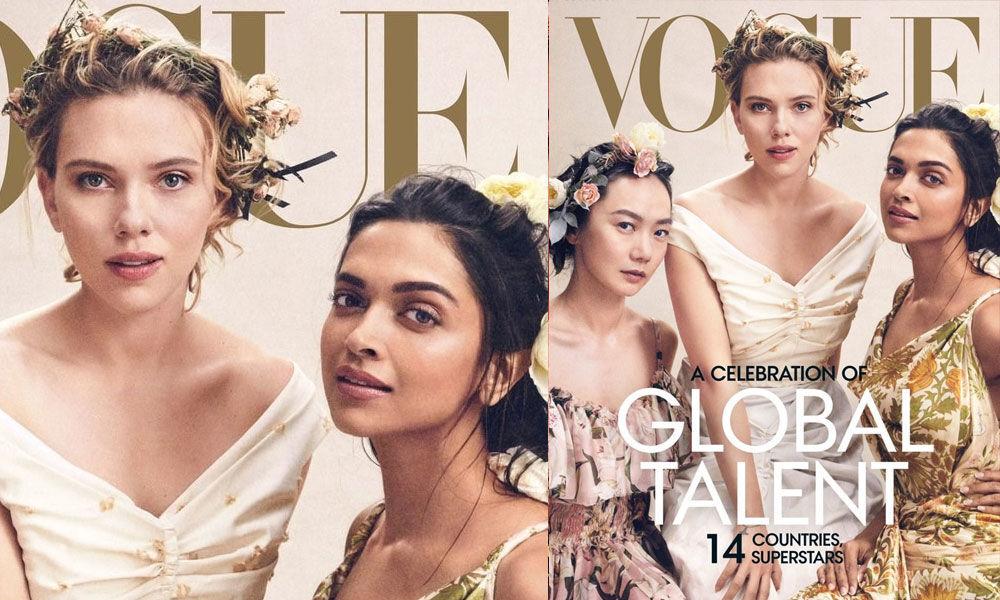 Deepika Padukone On Vogue Cover