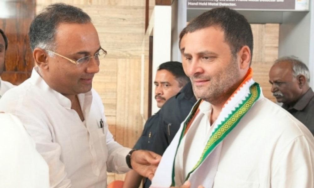 Rahul must contest from Karnataka: Congress leader