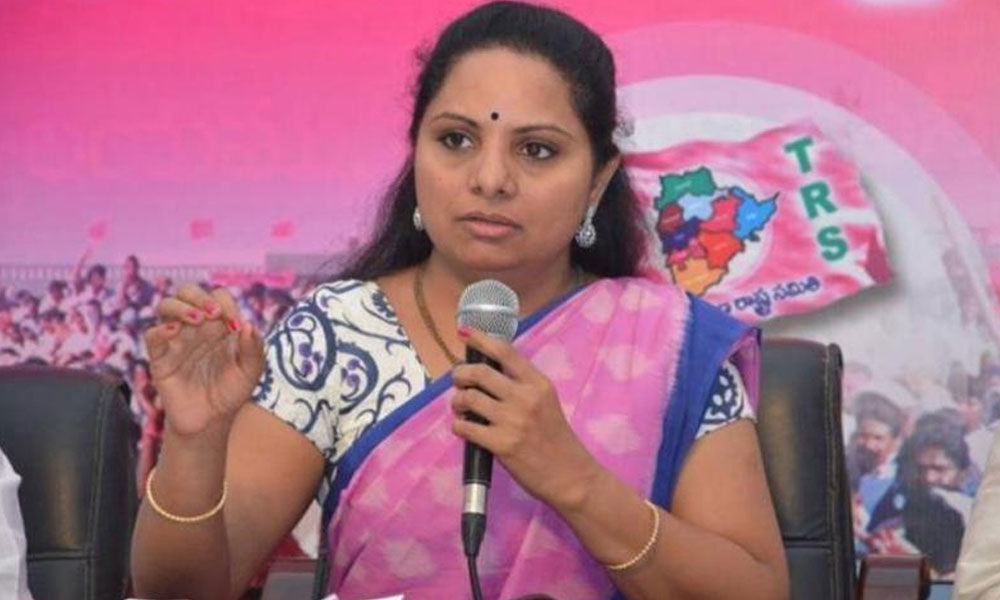 BJP, Congress two sides of same coin, TRS not anyones B-team: K Kavitha