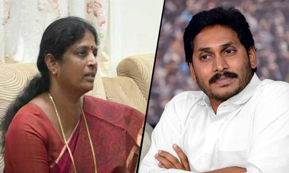 Vanga Geeta from East Godavari to meet YSRCP chief on Saturday night