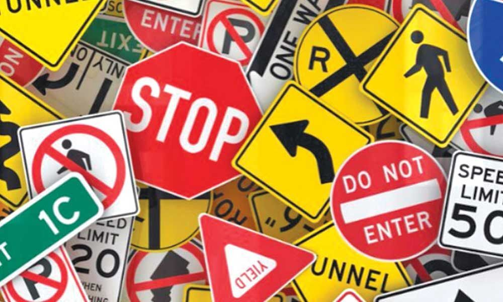 Traffic awareness drive conducted