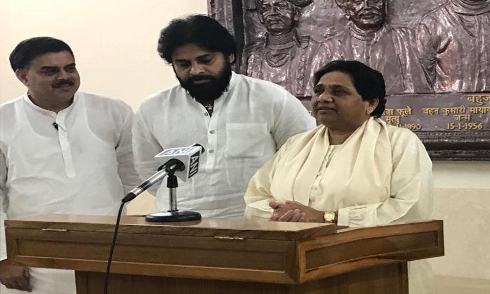 Pawan Kalyan, Mayawati join hands