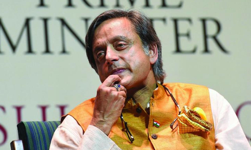 BJP welcomes Congress leader Tharoor