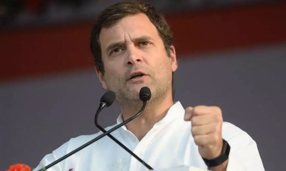 Congress to guarantee minimum income for poor if voted to power: Rahul in Dehradun
