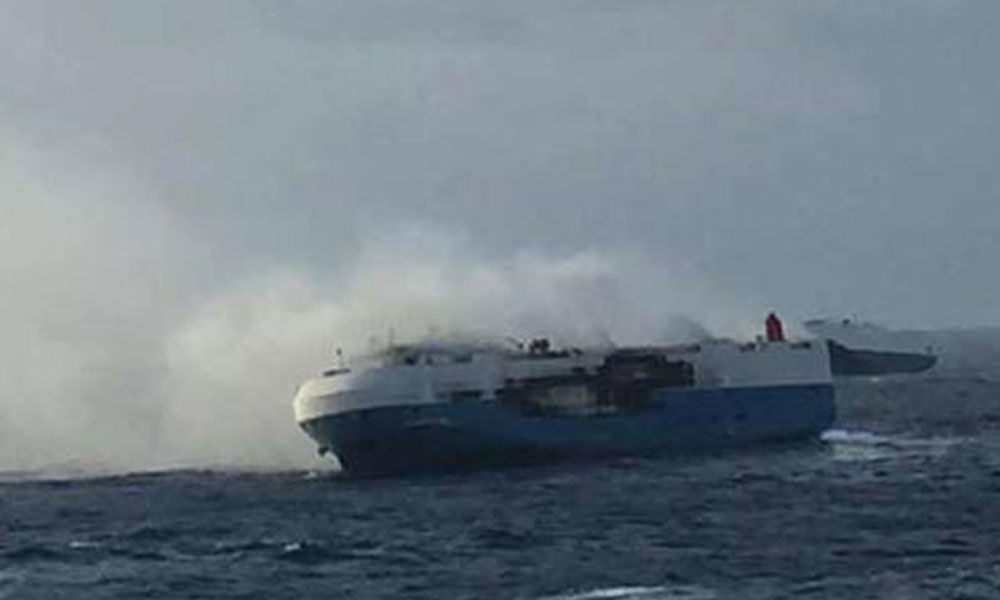 Fire on research ship off Ktaka coast; 30 crew members, 16 scientists rescued