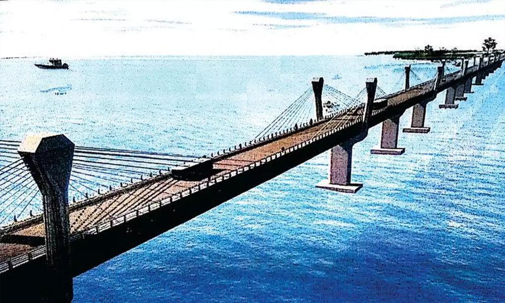 Bridge between Amabaragodlu and Kalasavalli villages in the next three years