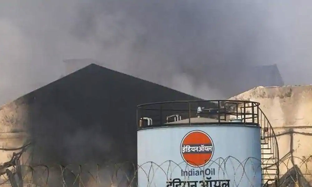 1 killed after fire in Panipat refinery