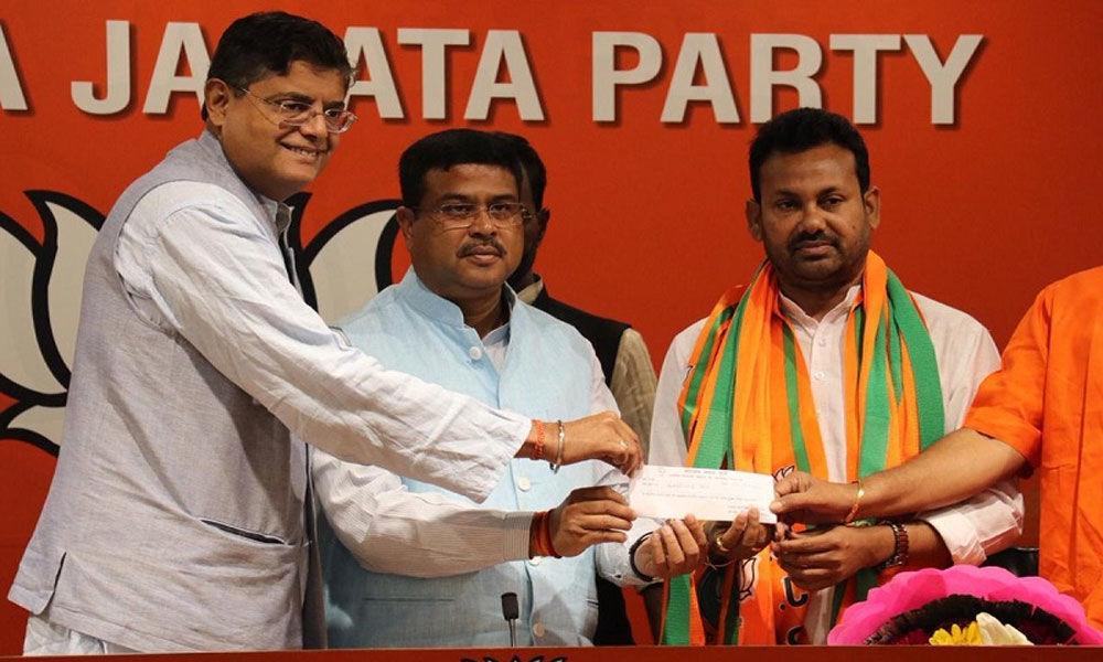 Ex-Congress MLA joins BJP